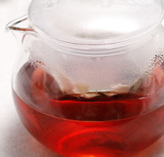 ニンジン葉茶